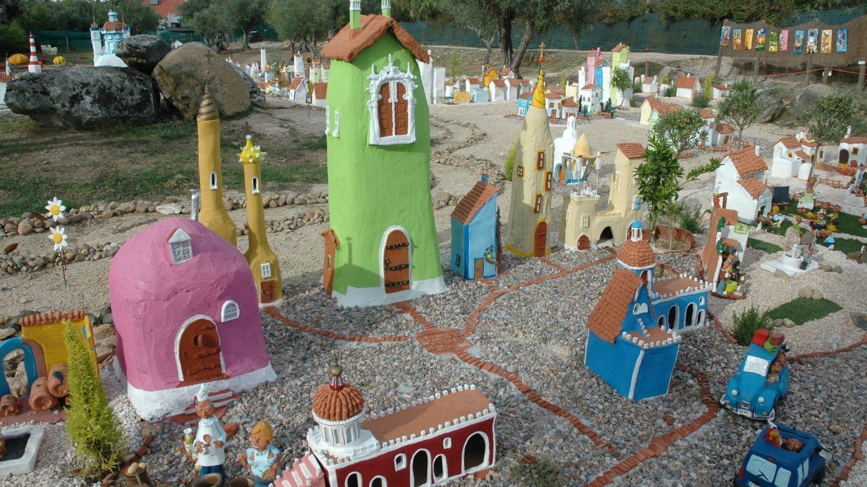 cidade aldeia da terra
